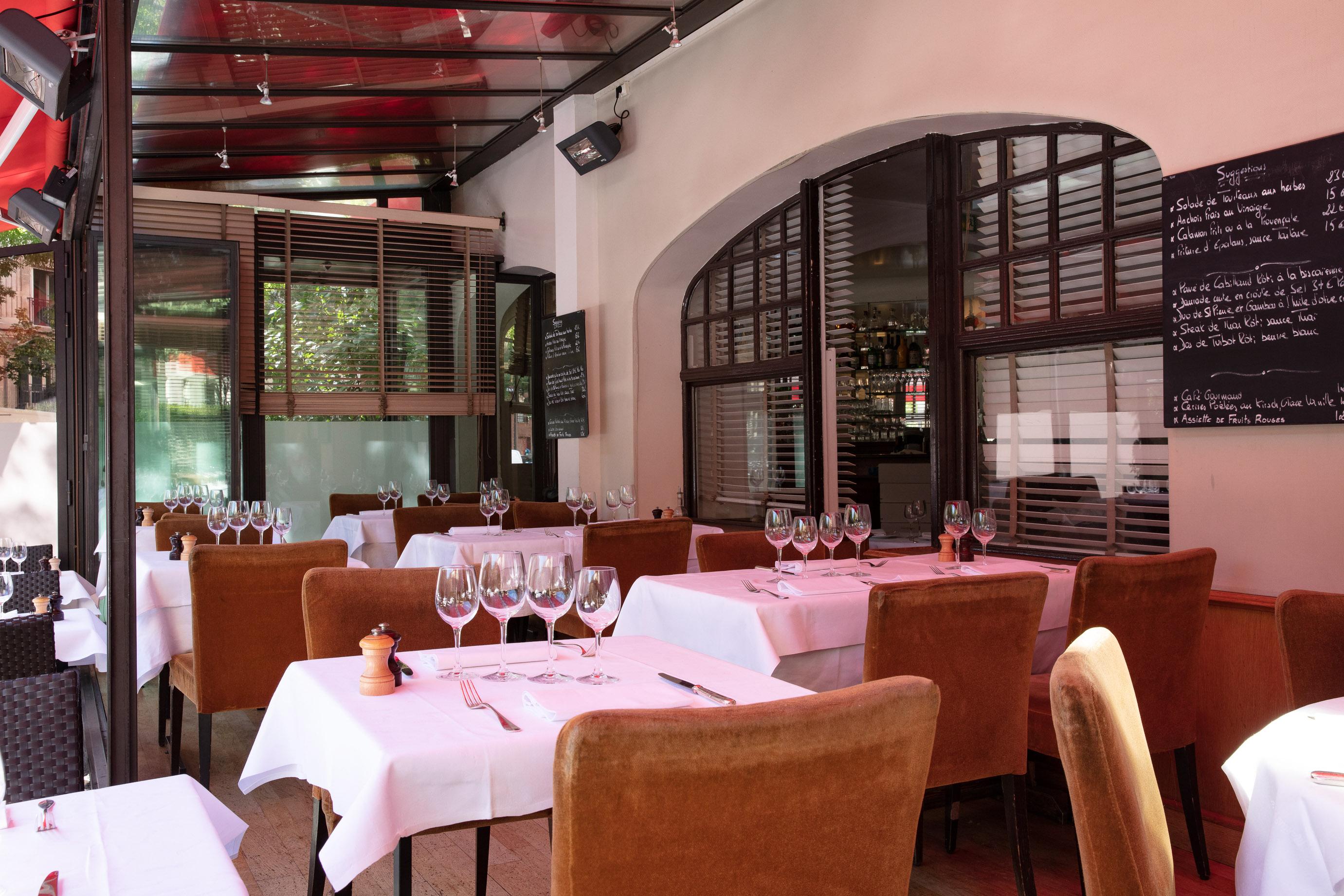 Terrasse du Restaurant Marius, Paris 16