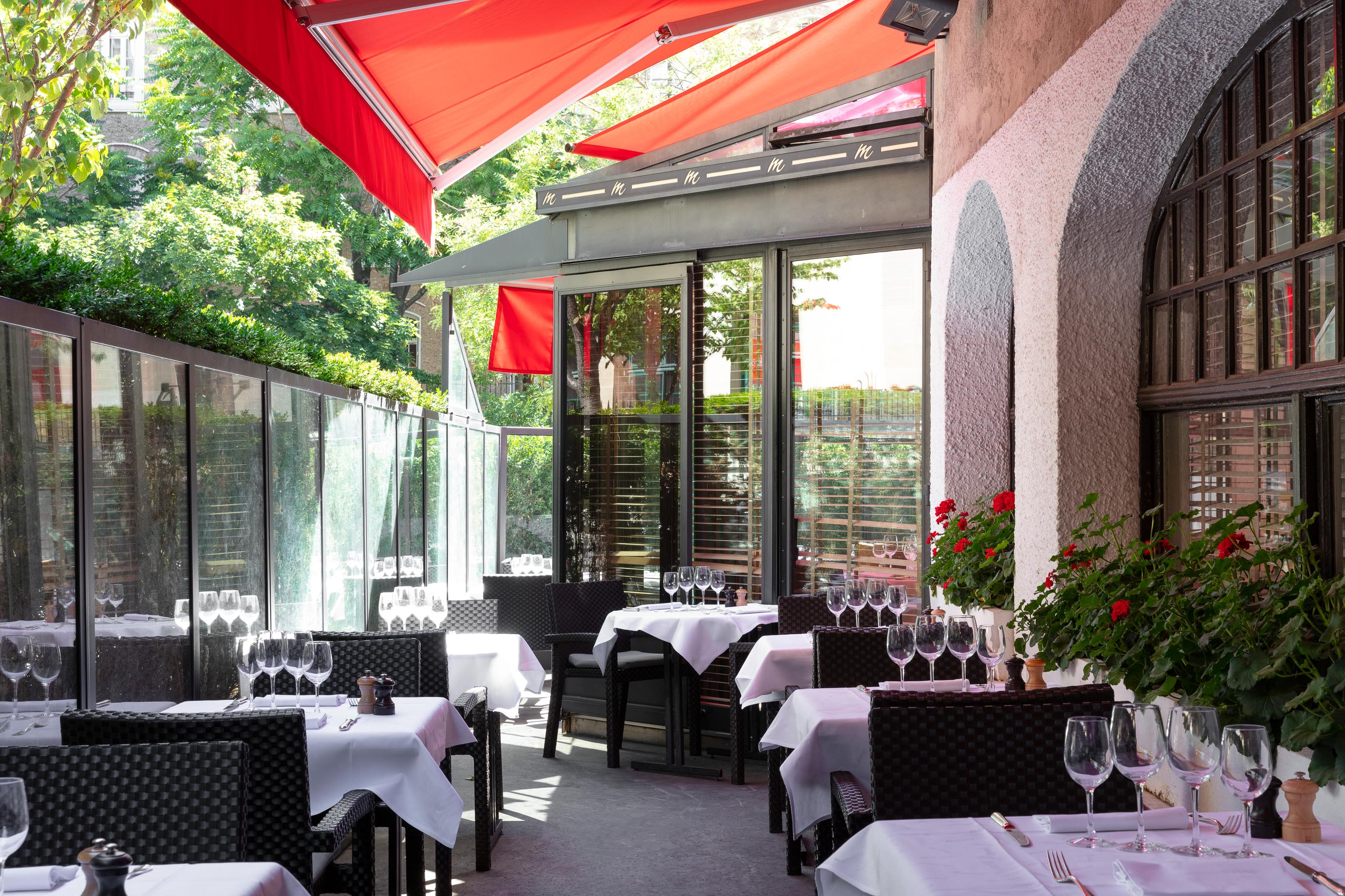 Terrasse du Restaurant Marius